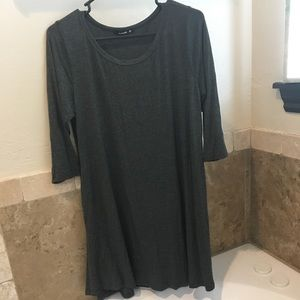 Dark gray women's blouse
